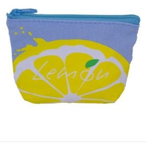NEW Lemon accessories Coin Purse Gift to TEA Lover